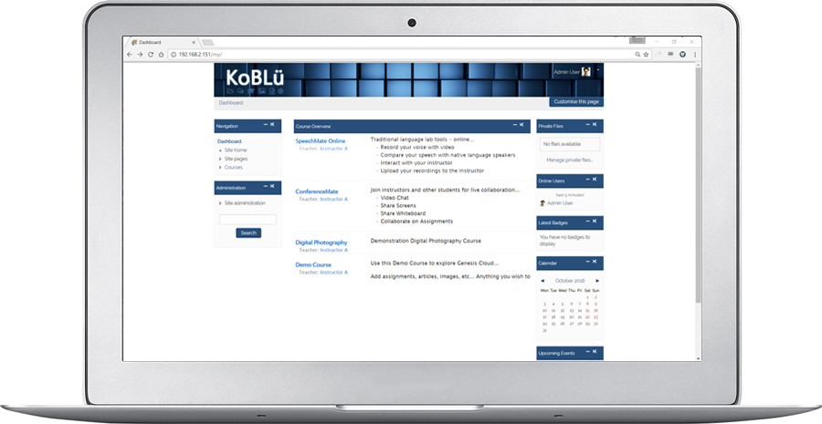 Koblü Learn LMS
