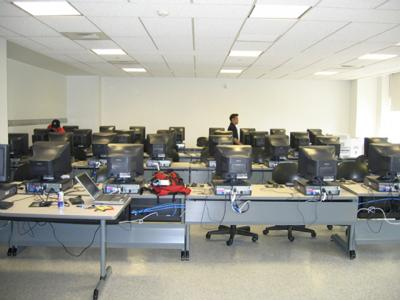 Genesis Language Lab at Queens College